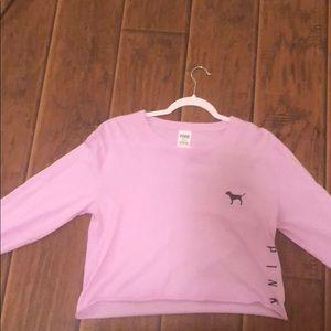 Victoria Secret Long sleeve cropped shirt